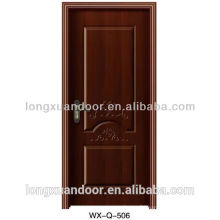 Interior soundproof wood door