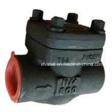 Clapet anti-retour d'oscillation de l'extrémité filetée NP10 de l'acier A605 d'API602