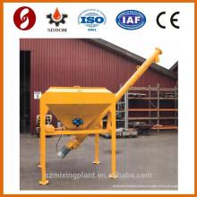 3 tonnes de silo de ciment mobile utilisé dans l'usine de mélange de béton mobile