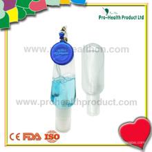 Bouteille de désinfectant à main vide avec rouleau de support rétractable (pH009-067B)