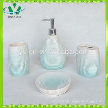2014 nova chegada decorativos toalete escova titular