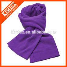 Fashion knit acrylic plain scarf
