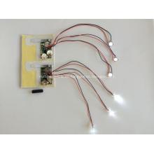 Módulo LED para tarjetas de felicitación, luz LED para revista, luz led para caja de regalo