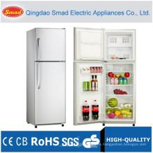 Refrigerador vertical doble de la puerta sólida 251L