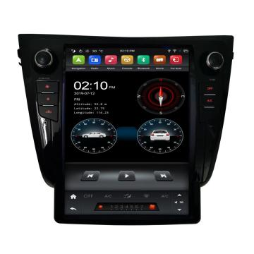 tesla android head unit voor X-Trail / Qashaqi 2014