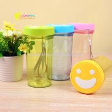 Lovely Smiling Face Plastic Water Bottle for Advertising Gift