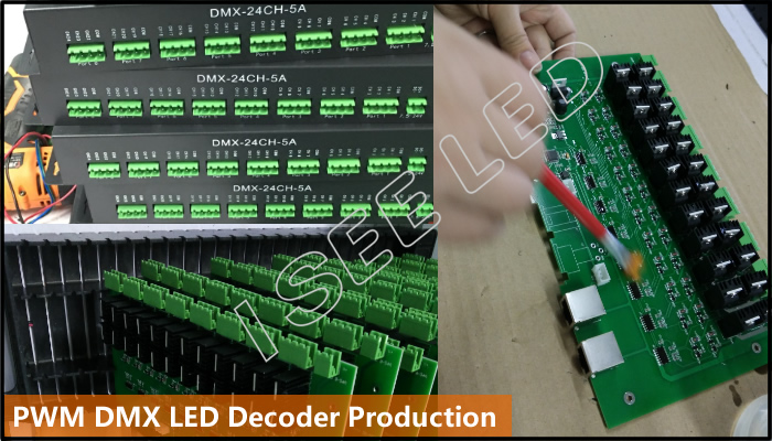 dmx led decoder