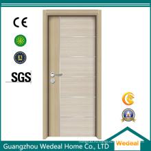 Меламин Белый грунтованный пустотные деревянные двери для гостиничных (WDHC04)