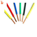 copper conductor  PVC insulated  solid  single  electric wire