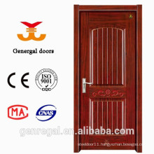 Imitation Wood Grain luxury Decorative 45mm Steel doors