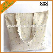 Großhandel Floral Baumwolle Einkaufstasche mit Griffen