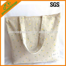 Wholesale Floral Cotton Shopping Bag with handles
