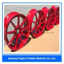 Rot Hochwertige Duroplast Pulverlacke