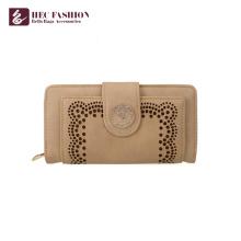 HEC Wholesale Custom Hand Purses PVC PU Leather Women Wallet