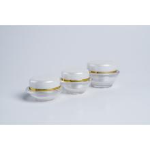 15g 30g 50g UFO Shape Plastic Acrylic Jars (EF-J36)