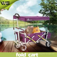 Utilidad plegable al aire libre Holiday carros de equipaje plegable con ruedas