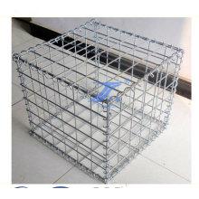 Корзина gabion сетки отверстие Коробка 10х10см