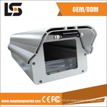 Caixa da câmera IP66 à prova d'água Caixa da câmera bala para CFTV com limpador