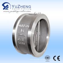 Válvula De Verificação De Placa De Aço Inoxidável Dual Wafer Fabricante