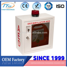 metal aed box for defibrillator