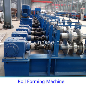 Automatik Three Wave Highway Guardrail Machine