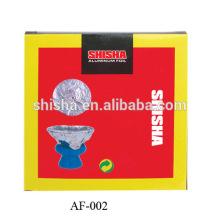 Folie verschiedene Wasserpfeife Shisha Alufolie