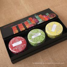 Handwerk Natürliche Qualität Kerze Set mit exquisite Box