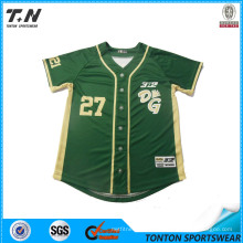 2015 Wholesale Latest Style Custom Baseball Jersey Sleeveless
