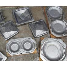 Moldes de compressão matte dos utensílios de mesa da melamina do chapeamento de cromo (MJ-020)