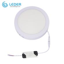 LEDER Circle Puissant Panneau LED 6W
