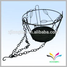 Customzied good quality metal flower hanging stand for plant