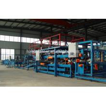 Ligne de machine de production de panneaux de gâteau Sandwich en polyuréthane en acier galvanisé complet et polyvalent PU Vente en ligne