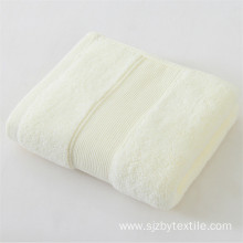 Wholesale bath towels hotel 100% cotton white towel