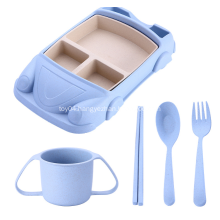 Unbreakable Children Dinnerware Cute Shape