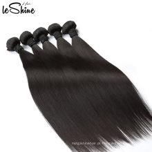 Não processado pode ser tingido branqueado encaracolado Nadula extensões de cabelo