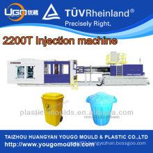 plastic pallet making machine/2200T plastic injection moulding machine