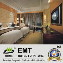Первоклассный деревянный гостиничный спальный гарнитур (EMT-B1204)