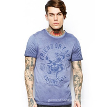 2014 China OEM Fashion Cheapest Round Neck Printing 100%Cotton Jersey Men′s T-Shirt