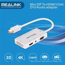Мини-DisplayPort DP к HDMI/кабель DVI/кабель VGA /аудио стерео адаптер кабель
