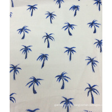 55%Linen 45%Cotton Printed Fabric for Gament, Sofa, Cushion