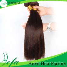 Silky gerades gerades brasilianisches Remy-Menschenhaar-Haar-Schuß