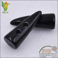 2 Orificios 3.5-5cm poliéster Resin Toggle Button para el escudo