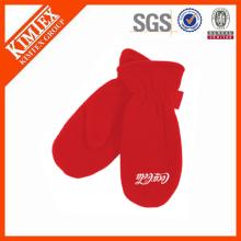 wholesale custom cheap winter adult polar fleece mittens