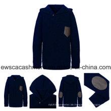 Männer Hoodie Style Pure Cashmere Strickwaren
