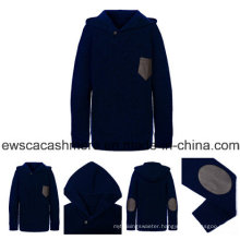 Men′s Hoodie Style Pure Cashmere Knitwear