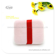 Factory Supply Pink Velvet Powder Puff for Promotion