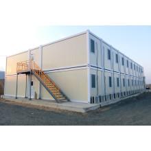 Casa de contêiner combinado de dois andares de design moderno