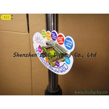 Tapis magnétique doux de tasse, aimant de réfrigérateur, aimant de réfrigérateur, caboteur mou de magnétisme (B et C-G083)