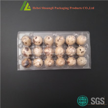 Klare Plastik Wachtel Ei Verpackung zum Verkauf