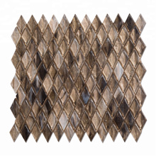High End Gold Diamond Glass Mosaic for Wall Decoration